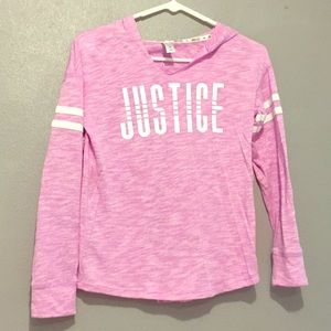 Child's Justice Pullover Size 10